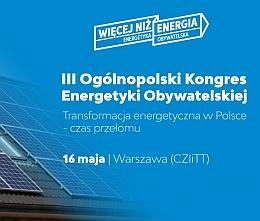 III Kongres Energetyki Obywatelskiej 2019