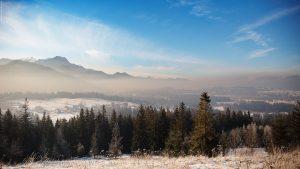 Smog w Zakopanem w styczniu 2016 roku, fot. Jan Danek