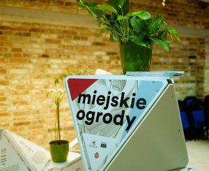 """Wystawa """"Miejskie ogrody"""" (Fot. Aleksandra Ziółkowska, Polska Zielona Sieć)"""
